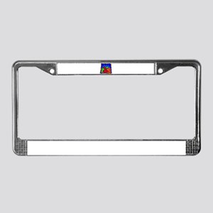 Peppers100 License Plate Frame