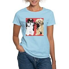 2 DOGS for FLIP FLOPS Women's Light T-Shirt