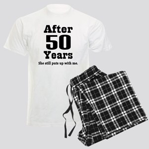 50th Anniversary Funny Quote Men's Light Pajamas