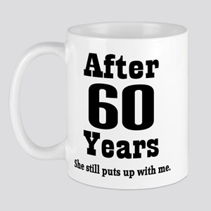 60th Anniversary Funny Quote Mug