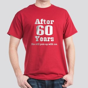 60th Anniversary Funny Quote Dark T-Shirt