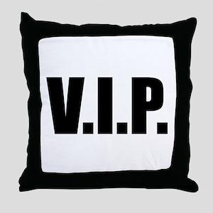 V.I.P. Throw Pillow