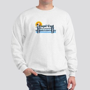 Cape Cod MA - Pier Design Sweatshirt