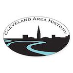 Cleveland Area History Sticker (Oval)