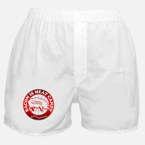 Bacon Is Meat Candy Boxer Shorts