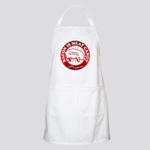 Bacon Is Meat Candy Apron