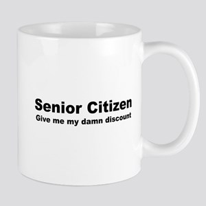 Senior Citizen Discount Mug