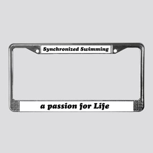 Synchro License Plate Frame
