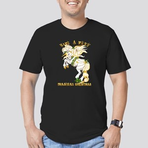 Christmas Unicorn-Have A Very Men's Fitted T-Shirt