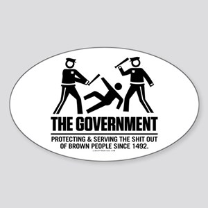 The Government Sticker (Oval)