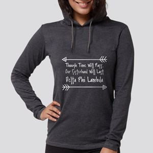 Delta Phi Lambda Sisterhood Womens Hooded T-Shirts