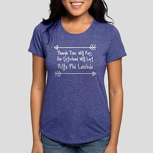 Delta Phi Lambda Sisterh Womens Tri-blend T-Shirts