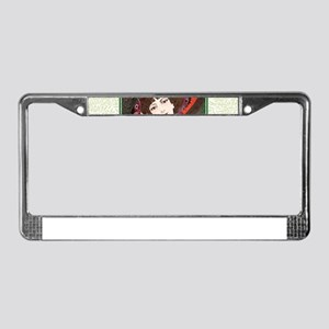 Smoke Gets In Your Eyes~ License Plate Frame