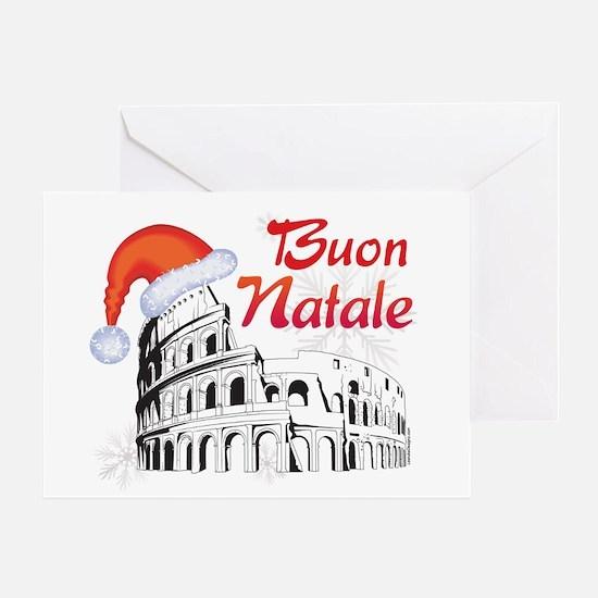 Buon Natale Roma Greeting Card