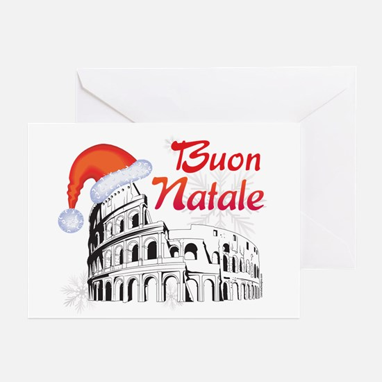 Buon Natale Roma Greeting Cards (Pk of 20)