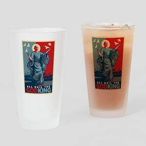 God-King Drinking Glass