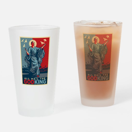 God-King Drinking Glass