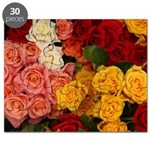 Colorful Roses Puzzle