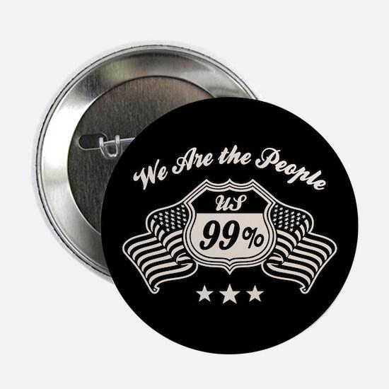 "Highway 99% -bw 2.25"" Button"
