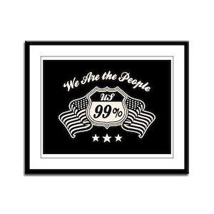 Highway 99% -bw Framed Panel Print