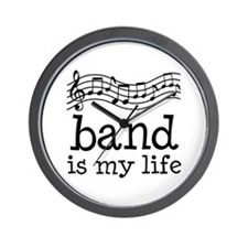 Band is My Life Music Gift Wall Clock