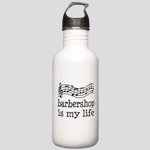 Barbershop Is My Life Gift Stainless Water Bottle