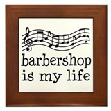 Barbershop quartet Framed Tiles
