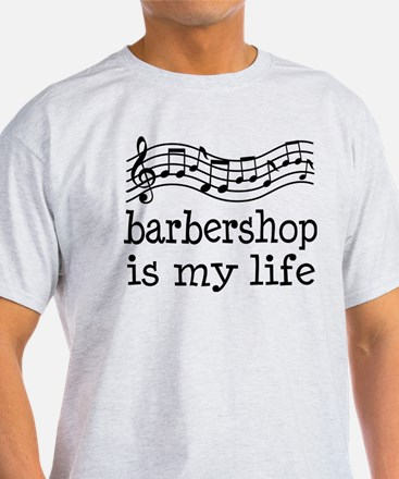 Barbershop Is My Life Gift T-Shirt