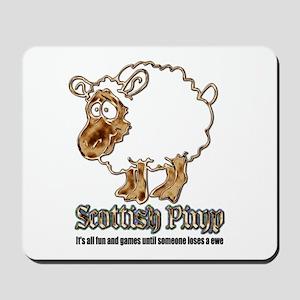 Scottish Pimp Mousepad