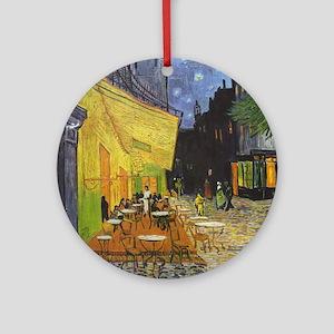 Night Cafe, van Gogh Ornament (Round)