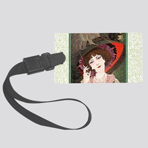 Smoke Gets In Your Eyes~ Large Luggage Tag