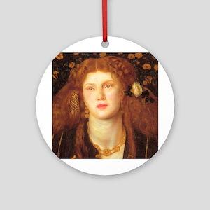 Rossetti Ornament (Round)