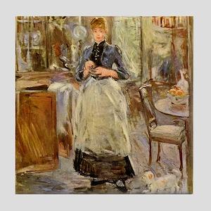 Artist -- Berthe Morisot Tile Coaster