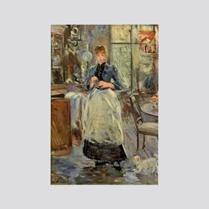 Artist -- Berthe Morisot Rectangle Magnet