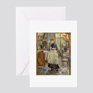 Artist -- Berthe Morisot Greeting Card