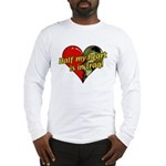 Half My Heart is in Iraq (NEW) Long Sleeve T-Shirt