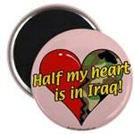 Half My Heart is in Iraq (NEW) Magnet