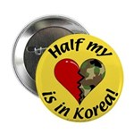 Half my heart is in Korea Button