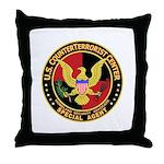 U.S. Counter Terrorist Center Throw Pillow