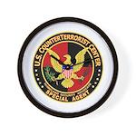 U.S. Counter Terrorist Center Wall Clock