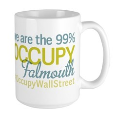 Occupy Falmouth Large Mug