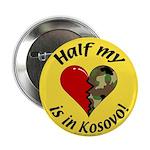 Half my heart is in Kosovo Button