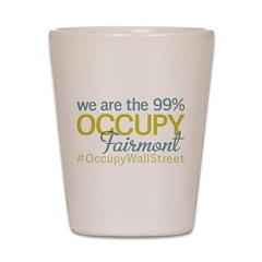 Occupy Fairmont Shot Glass