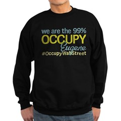 Occupy Eugene Sweatshirt (dark)