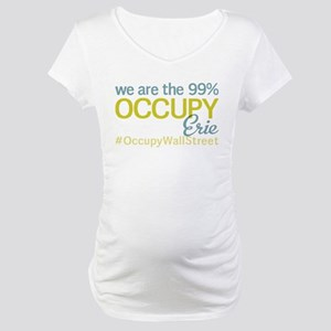 Occupy Erie Maternity T-Shirt