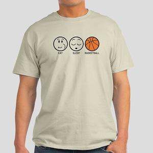 Eat Sleep Basketball Light T-Shirt