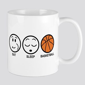 Eat Sleep Basketball Mug