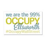 Occupy Ellsworth Car Magnet 20 x 12