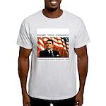 President Reagan Memorial Ash Grey T-Shirt