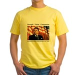 President Reagan Memorial Yellow T-Shirt